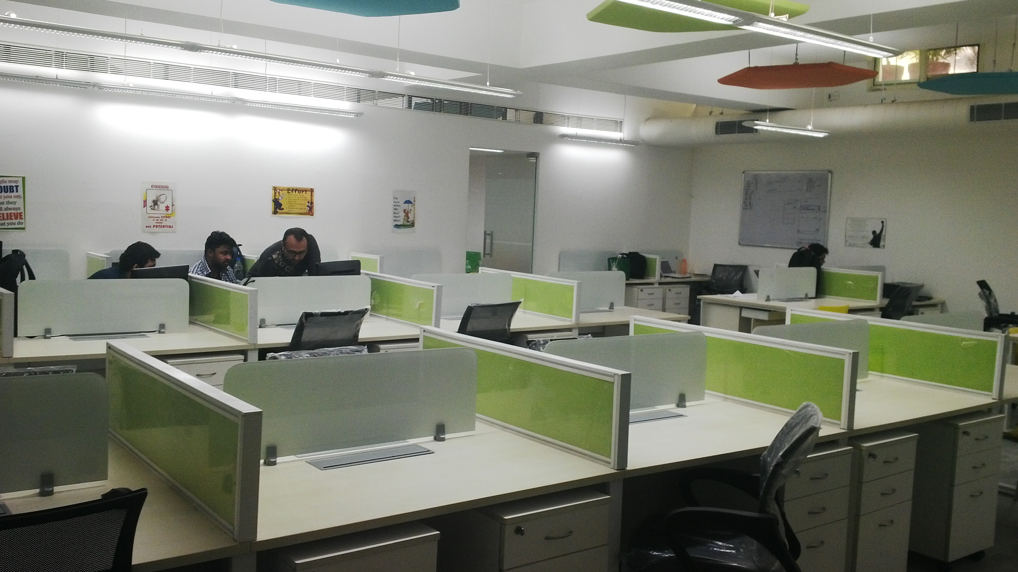 Fully furnished office spaces