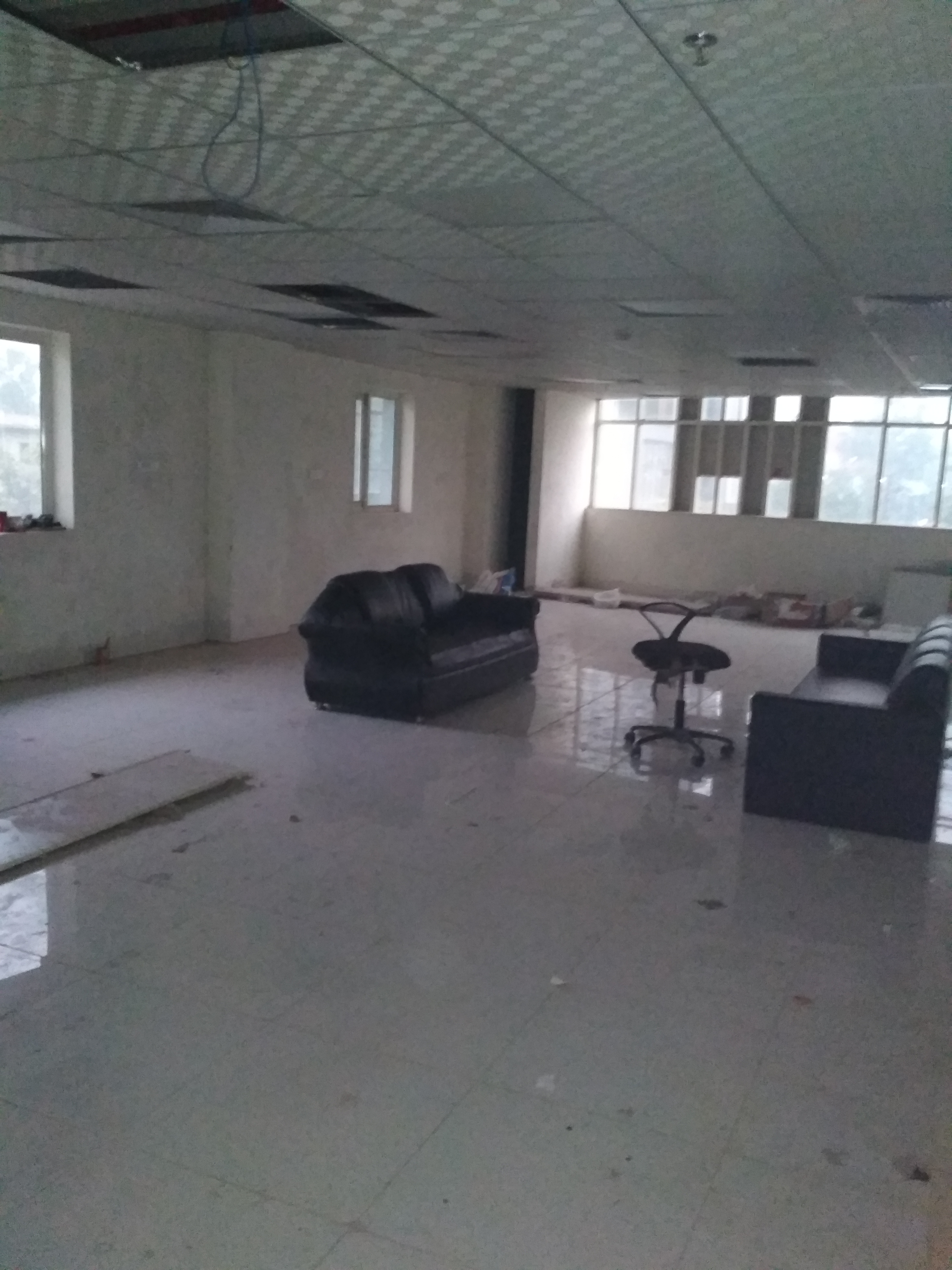 Bare Shell Office space