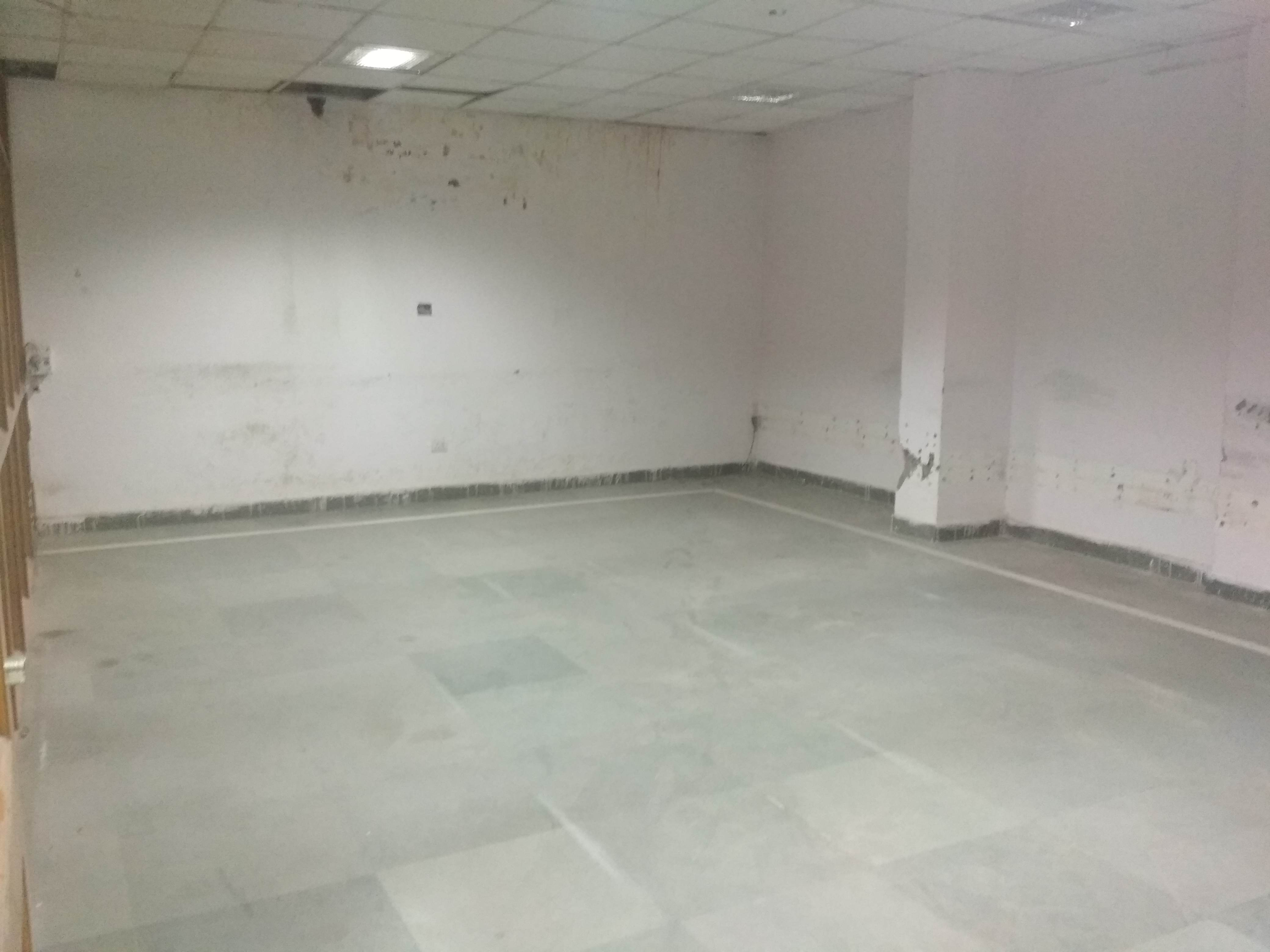 Semi furnished space on 18m wide road