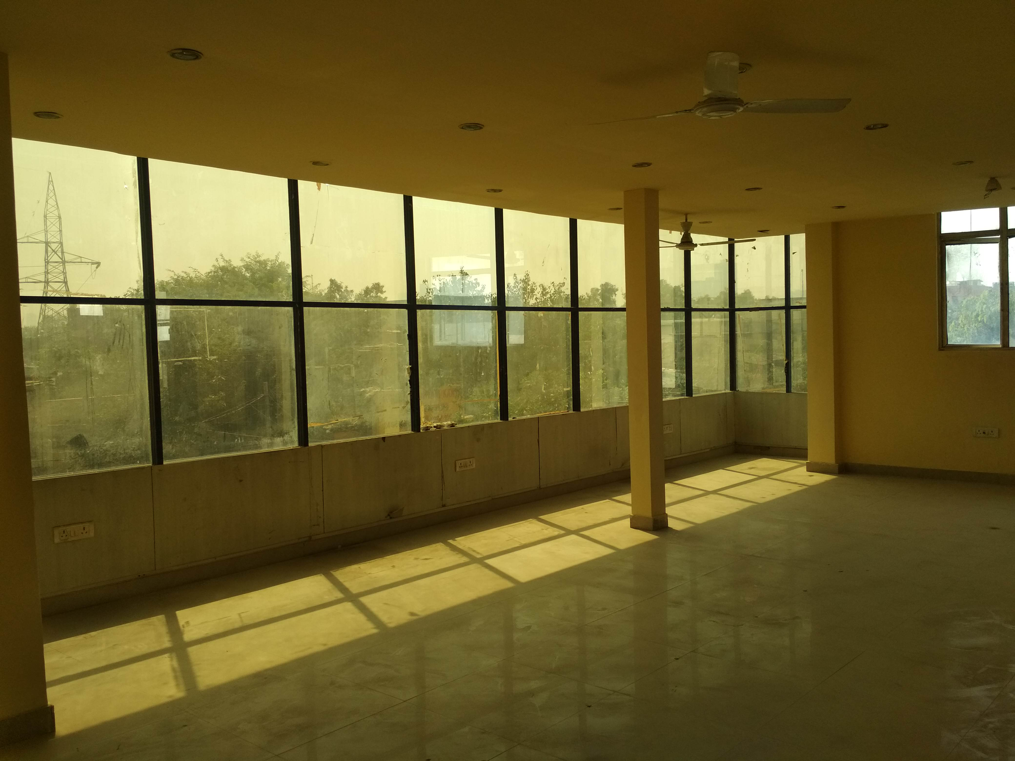 Semi furnished Office space with complete Flooring